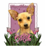 Mothers Day - Pink Tulips - Chihuahua Photo Sculptures