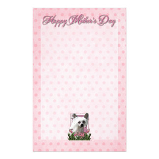 Mothers Day - Pink Tulips - Crestie - Kahlo Stationery Paper