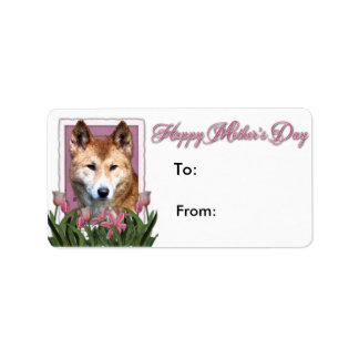 Mothers Day - Pink Tulips - Dingo Labels
