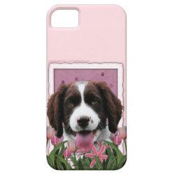 Case-Mate Vibe iPhone 5 Case with Springer Spaniel Phone Cases design