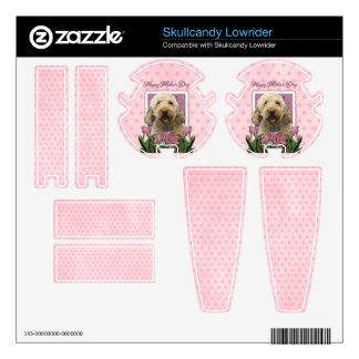 Mothers Day - Pink Tulips - GoldenDoodle Skullcandy Lowrider Skins