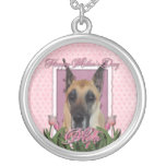 Mothers Day - Pink Tulips - Great Dane Pendant
