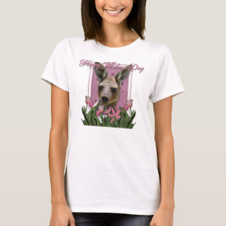 Mothers Day - Pink Tulips - Kangaroo T-Shirt