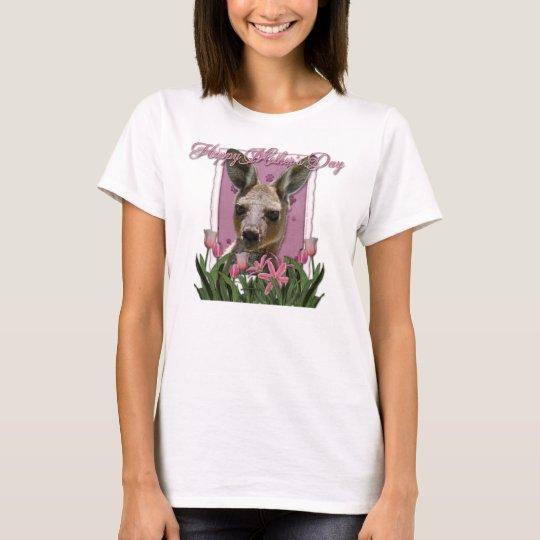 Mothers Day - Pink Tulips - Kangaroo T-Shirt