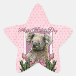 Mothers Day - Pink Tulips - Koala Star Sticker