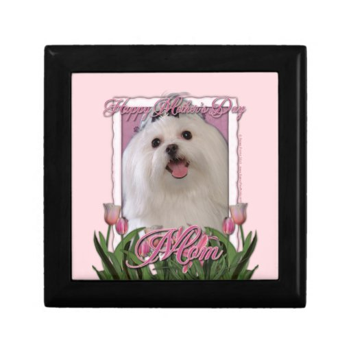 Mothers Day - Pink Tulips - Maltese Gift Boxes