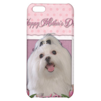 Mothers Day - Pink Tulips - Maltese Case For iPhone 5C