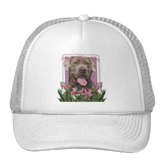 Mothers Day - Pink Tulips - Mastiff - Snoop Hats