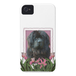 Mothers Day - Pink Tulips - Newfoundland Case-Mate iPhone 4 Cases