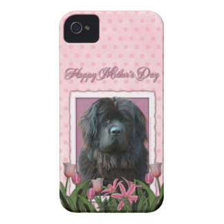 Mothers Day - Pink Tulips - Newfoundland iPhone 4 Cover