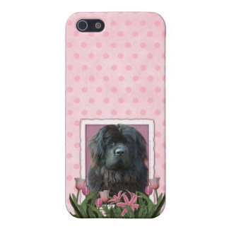 Mothers Day - Pink Tulips - Newfoundland iPhone 5 Case