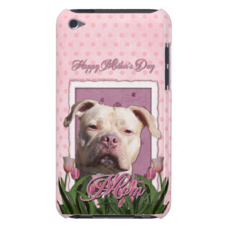 Mothers Day - Pink Tulips - Pitbull - Jersey Girl Barely There iPod Cover