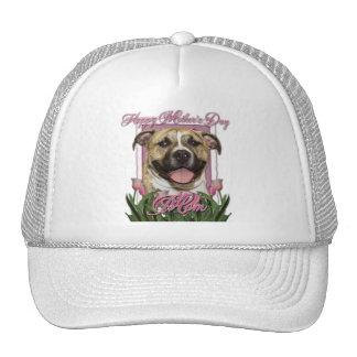 Mothers Day - Pink Tulips - Pitbull - Tigger Trucker Hats