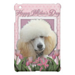 Mothers Day - Pink Tulips - Poodle - Apricot iPad Mini Cases