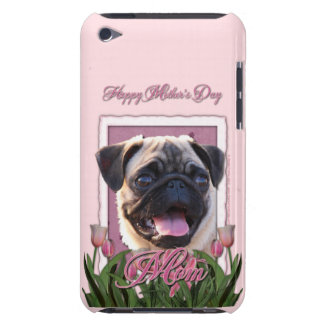 Mothers Day - Pink Tulips - Pug Barely There iPod Case