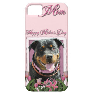 Mothers Day - Pink Tulips - Rottweiler - SambaParT iPhone SE/5/5s Case