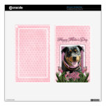 Mothers Day - Pink Tulips - Rottweiler - SambaParT Skins For Kindle Fire