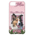 Mothers Day - Pink Tulips - Sheltie Cover For iPhone 5C