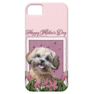 Mothers Day - Pink Tulips - ShihPoo - Maggie iPhone SE/5/5s Case