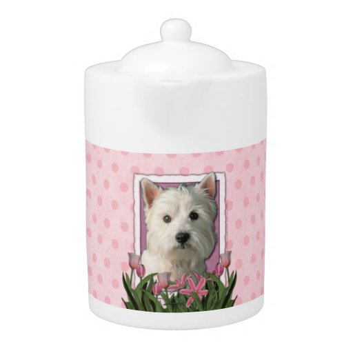 Mothers Day - Pink Tulips - Westie