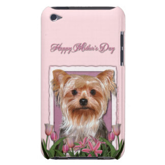 Mothers Day - Pink Tulips - Yorkshire Terrier iPod Touch Case