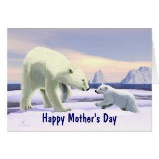 Mother's Day - Polar Bear Card