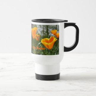 Mothers Day Poppies Travel Mug