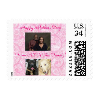 Mother's Day Postage Stamps For Post Cards