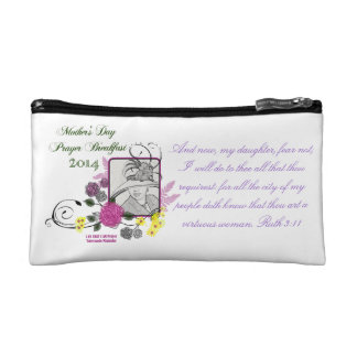 Mother's Day Prayer Breakfast Bag Cosmetic Bags