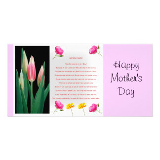 Mothers day prayer card