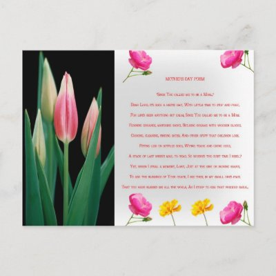 mothers day poems from kids. short mothers day poems for