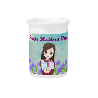 Mother's Day Present Drink Pitcher