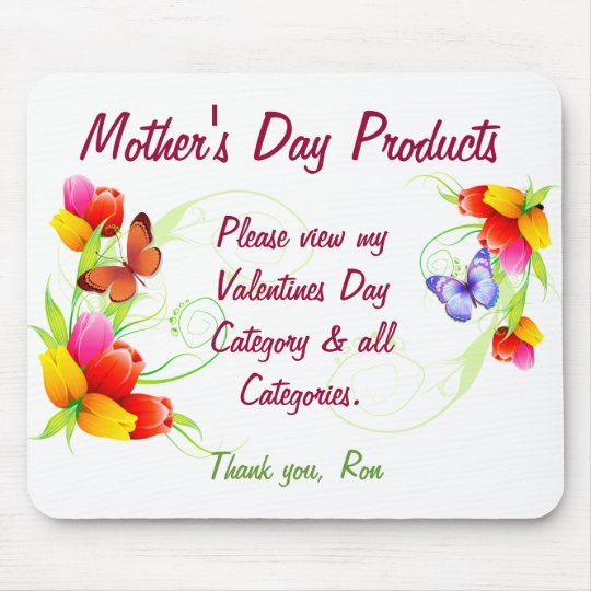 Mother's Day Products Mouse Pad