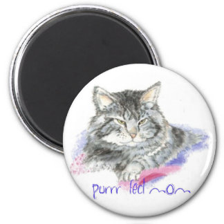 Mother's Day - Purrr-fect Mom - Cat 2 Inch Round Magnet