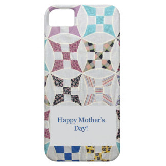 Mother's Day Quilt Wedding Ring iPhone 5 Case