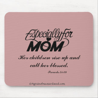 Mother's Day Quotes Mouse Pad