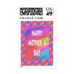 Mothers Day-Rainbow Postage Stamps