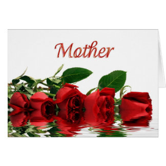 Mother's Day  Red Roses Cards
