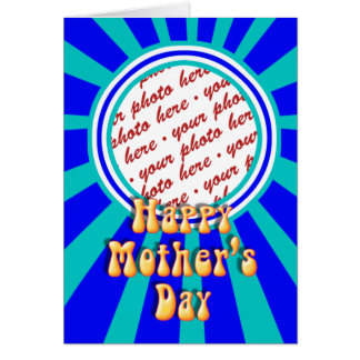 Mother's Day Retro Photo Frame Card