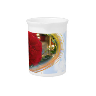 Mother's Day Rose Beverage Pitchers