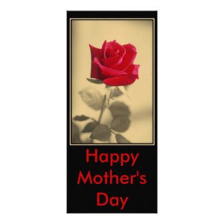 Mother's Day Rose Rack Card