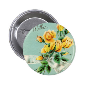 Mother's Day Roses Button