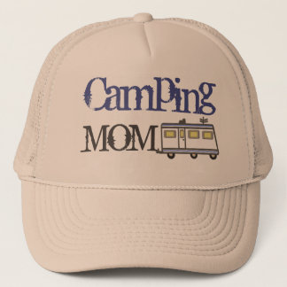 Mother's  Day / RV Camping Dad Trucker Hat Blue