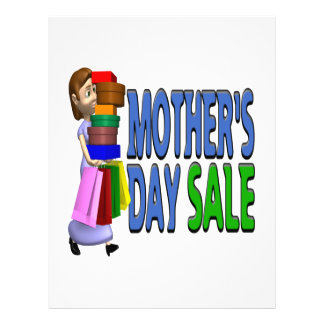 Mothers Day Sale Flyer