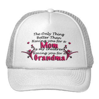 Mothers Day Saying Trucker Hat