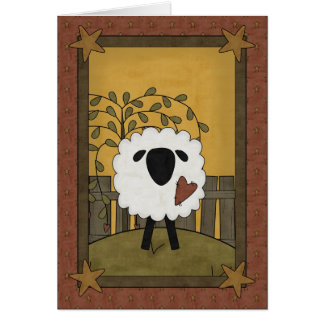 Mother's Day Sheep Card