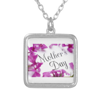 Mothers Day Silver Plated Necklace