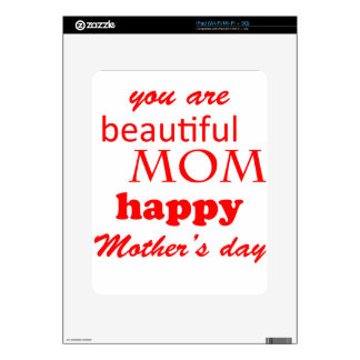 mother's day skin for iPad