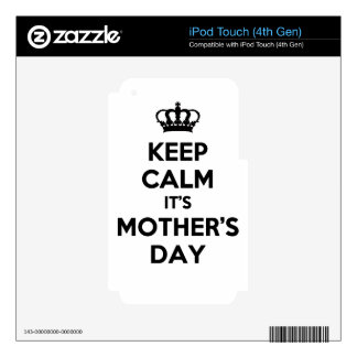 mother's day skins for iPod touch 4G