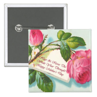 Mothers Day Square Button